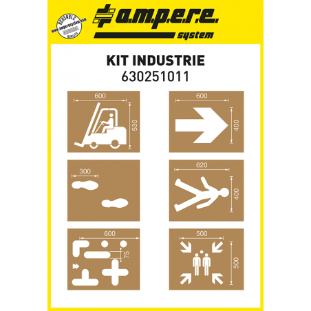 Kit Industria - Sagoma per la Segnaletica Industriale