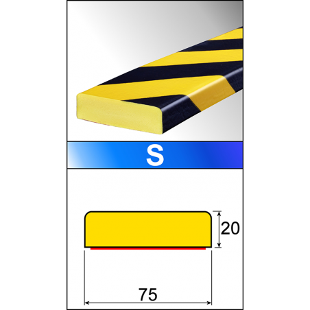Profili flessibili di protezione S